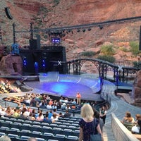 Photo taken at Tuacahn Amphitheater by Noreen P. on 8/11/2013