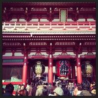 2/11/2013 tarihinde Phantasien A.ziyaretçi tarafından Senso-ji Temple'de çekilen fotoğraf