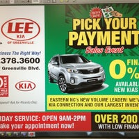 ... Photo Taken At Lee Kia Of Greenville By Brittain B. On 7/13/ ...