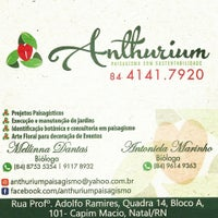 Photo taken at Anthurium Paisagismo by Antoniela M. on 10/9/2014