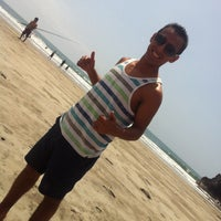 Photo taken at Playa León Dormido by Albert O. on 12/8/2014