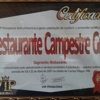Photo taken at Campestre Grill Restaurante by Joseane d. on 7/1/2017