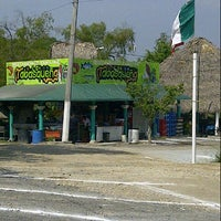 """Photo taken at Palapa """"La Tabasqueña"""" by Miguel S. on 10/17/2012"""