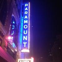 11/16/2012 tarihinde Missy B.ziyaretçi tarafından Paramount Theatre'de çekilen fotoğraf