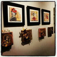 Photo taken at The Gallery at WREN by Laura J. on 1/22/2013