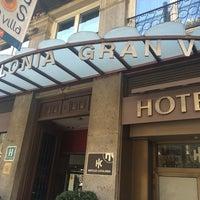 Photo taken at Hotel Catalonia Gran Vía **** by Sheryl on 8/19/2014