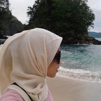 Photo taken at Teluk Hijau (Green Bay) by Amirah W. on 1/9/2015