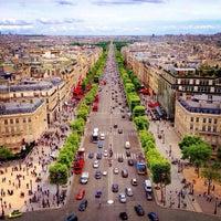 Photo taken at Avenue des Champs-Élysées by Richard C. on 6/16/2013