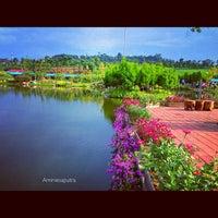 Photo taken at Floating Market Lembang by Nur A. on 6/2/2013
