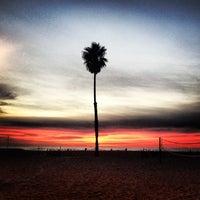Photo taken at Santa Monica Beach Tower 26 by Lalisa L. on 1/6/2013