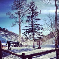 Photo taken at Stein Eriksen Lodge Deer Valley by Lalisa L. on 2/25/2013