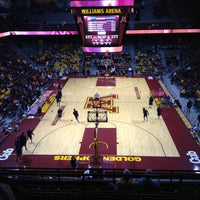 Photo taken at Williams Arena by Paul B. on 2/10/2013