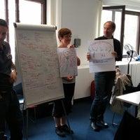Photo taken at Future Classroom Lab (at European Schoolnet) by Fernando F. on 6/17/2014