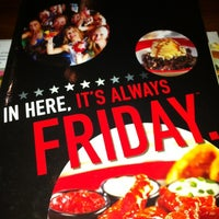 Photo taken at TGI Fridays by Ray T. on 3/10/2013