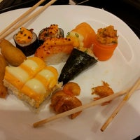 Photo taken at Sino Sushis by Biell D. on 3/16/2013