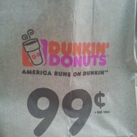 Photo taken at Dunkin' Donuts by Aimee F. on 4/17/2013