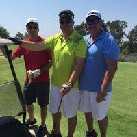 Photo taken at Black Gold Golf Club by Stephen B. on 8/22/2015