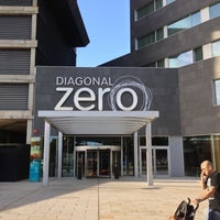 Photo taken at Hotel SB Diagonal Zero Barcelona by Dae P. on 10/17/2012