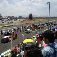 Photo taken at Autodromo Toluquilla by Alejandra R. on 6/9/2013