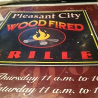 Photo taken at Pleasant City Wood Fired Grill by Annie H. on 9/18/2012