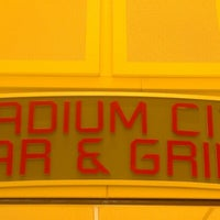 Photo taken at Stadium City Bar & Grill by Nathan H. on 10/15/2012