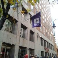 Photo taken at NYU 726 Broadway Building by Yumiko H. on 10/27/2012