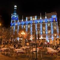Photo taken at Plaza de Santa Ana by 💯 . on 7/8/2013