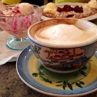 Photo taken at Eis-Café Pia by Kate M. on 3/22/2015