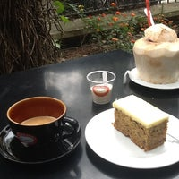Photo taken at Highlands Coffee by Anastassia L. on 1/2/2013