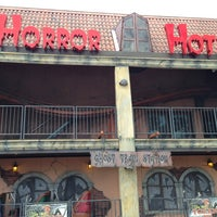 Photo taken at Horror Hotel by Jon C. on 6/23/2013