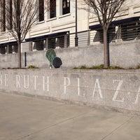 Photo taken at Babe Ruth Plaza by hiroseki on 12/25/2014