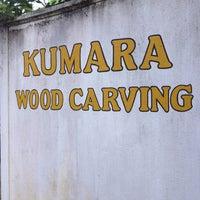 Photo taken at Kumara Wood Carving by Irina A. on 12/23/2012