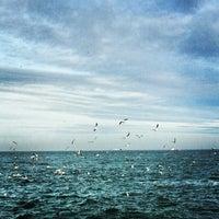 Снимок сделан в Пляж «Ланжерон» пользователем Влад К. 2/2/2013