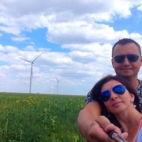 Photo taken at Wind power station by Влад К. on 7/11/2015