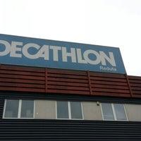 Photo taken at Decathlon Reduta by Adam G. on 10/7/2012