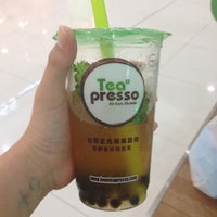 Photo taken at Tea Presso Java Supermall by Caroline A. on 5/12/2013