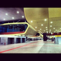 Photo taken at Roma Tiburtina Railway Station (IRT) by Andrea L. on 10/20/2012