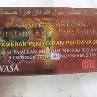 Photo taken at Muzium Kelantan by SofeaRasheeqaFazil on 10/19/2016