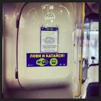 Photo taken at Автобус № 902 by Ilya K. on 2/18/2014