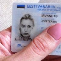Photo taken at Kodakondsus- ja Migratsiooniamet by Katja I. on 2/27/2014