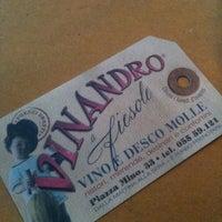 Foto tomada en Vinandro por Massimiliano M. el 7/1/2013