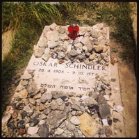 Photo taken at Oscar Schindler's Grave by Micha A. on 4/17/2014