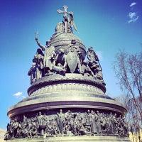 Photo taken at Novgorod Kremlin by Екатерина Х. on 5/2/2013