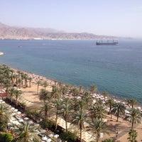 Photo taken at Royal Beach Eilat by Diana Z. on 3/31/2013