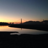 Photo taken at Crissy Field by Peter B. on 12/15/2013