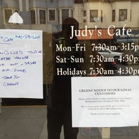 Photo taken at Judy's Cafe by Peter B. on 5/31/2015