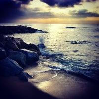 Photo taken at Prat Beach by Rabasz ✪. on 9/21/2012