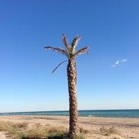 Photo taken at Prat Beach by Rabasz ✪. on 12/5/2012