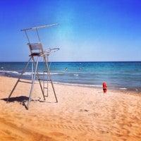 Photo taken at Prat Beach by Rabasz ✪. on 7/8/2013