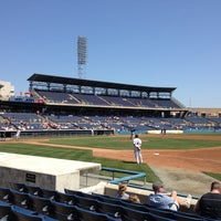 Photo taken at Harbor Park by Laura C. on 4/10/2013